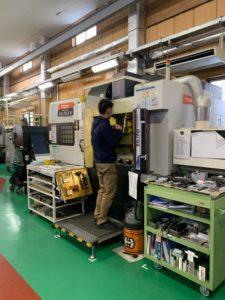 マシニングセンタ 阿智村 中島工業